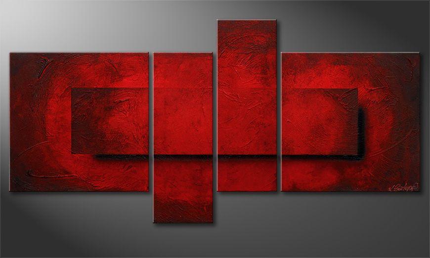 Decoración para la pared con Glowing Emotions 130x65x2cm