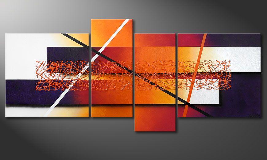 El cuadro Afterglowing Memories 180x80x2cm