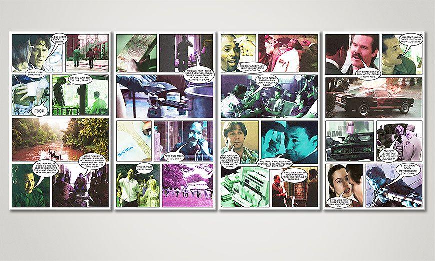 El cuadro American Gangster 160x70x2cm