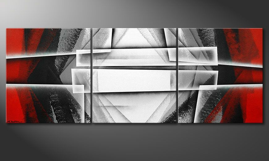 El cuadro Deep Silence 180x70x2cm