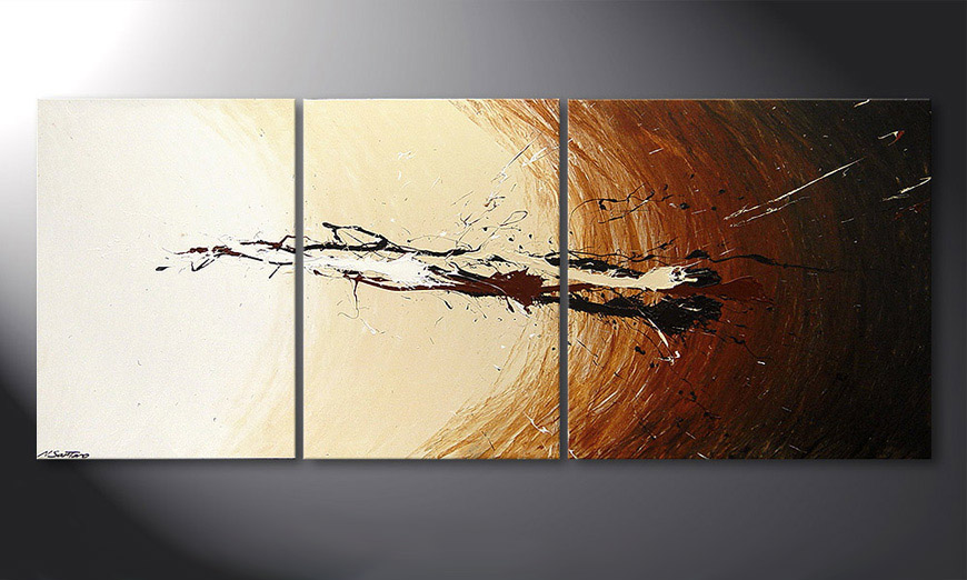 El cuadro Power of Earth 170x70x2cm