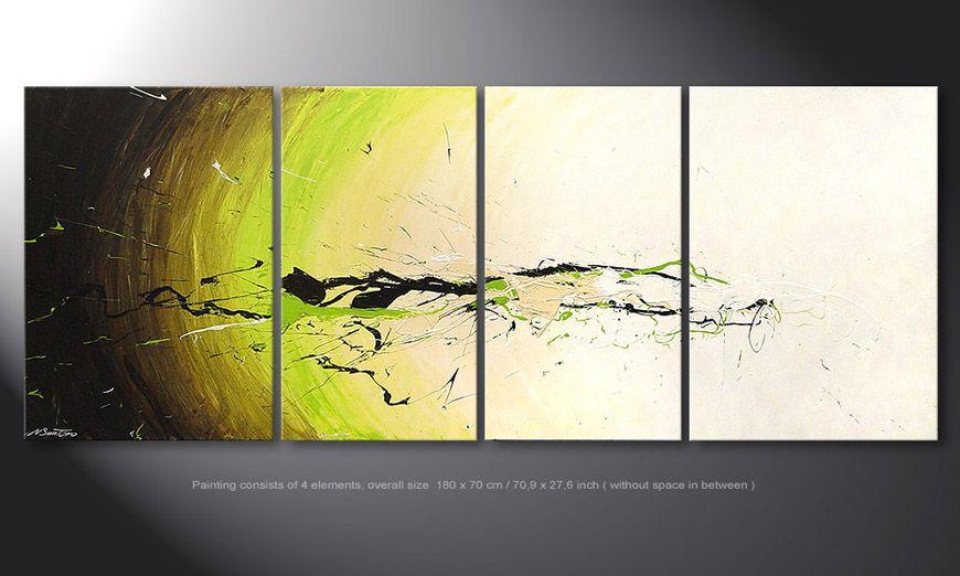 El cuadro Spirit of Nature de 180x70x2cm