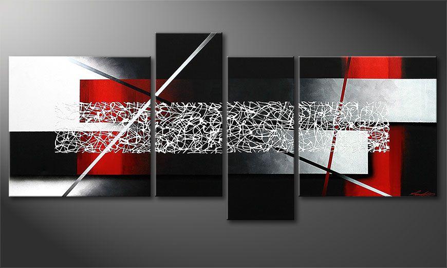 El cuadro Sudden Inspiration 180x80x2cm