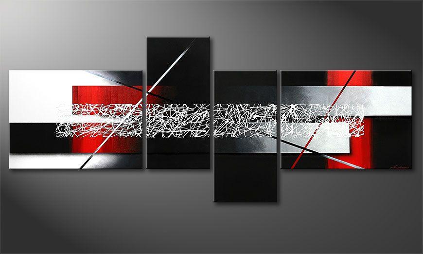 El cuadro-XXL Sudden Inspiration 240x100x2cm