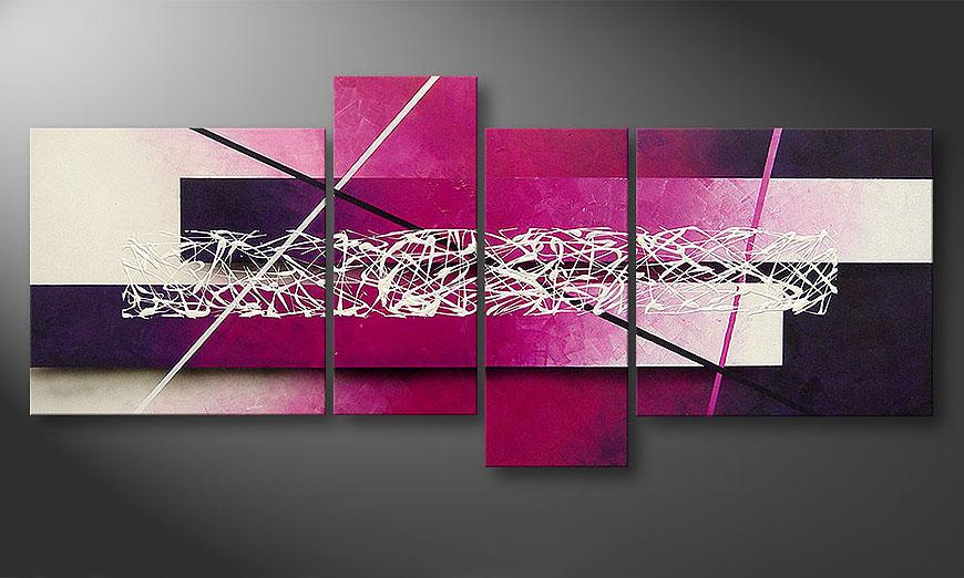 El cuadro moderno Connection 180x80x2cm