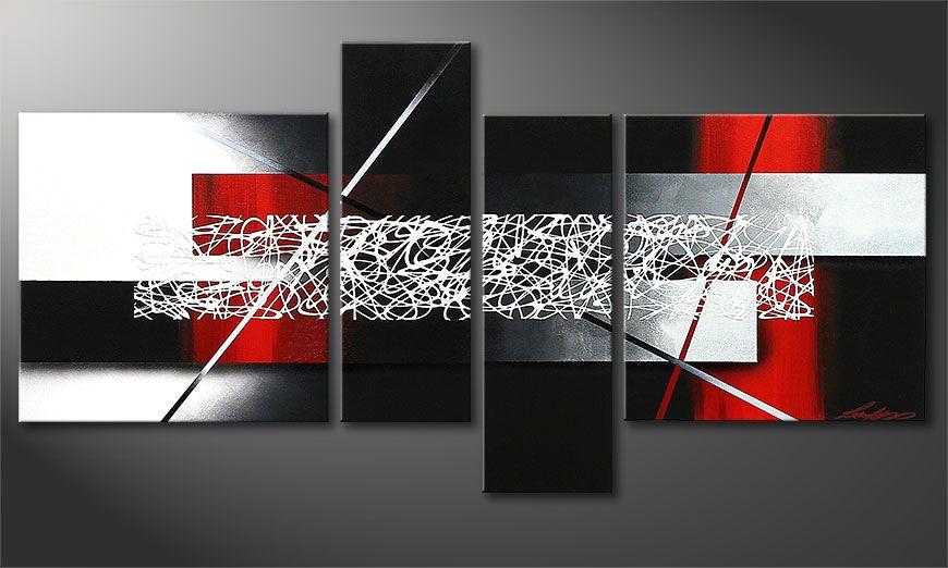 El cuadro pequeño Sudden Inspiration 130x65x2cm