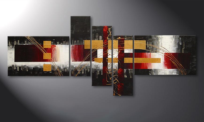 El cuadro sobre bastidor Spaces for Love de 180x80x2cm
