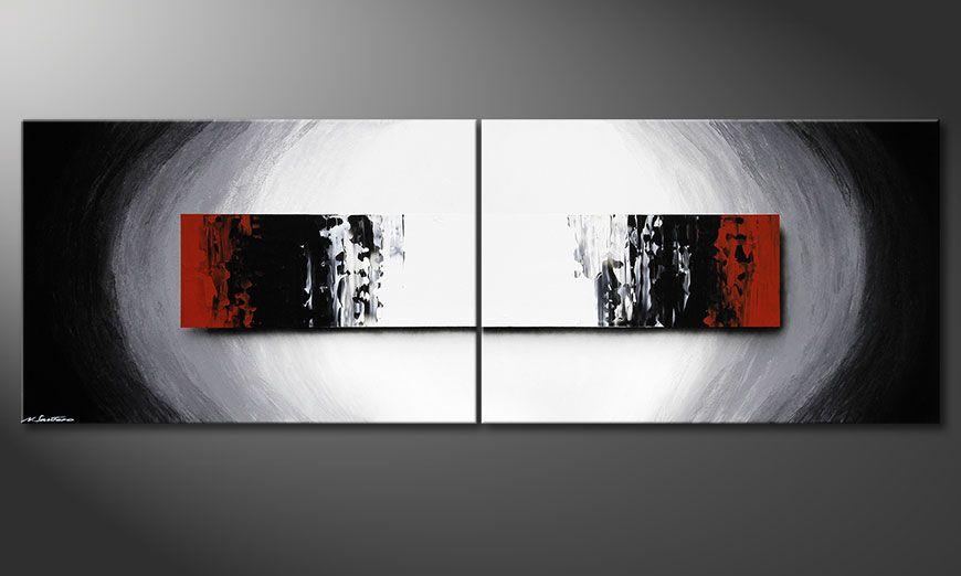 El gran cuadro Deep Space 240x80x2cm
