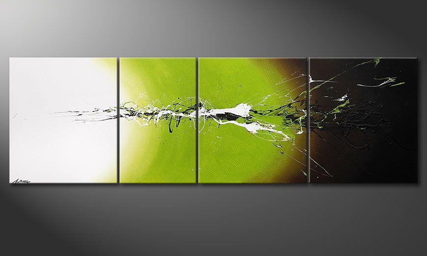 El gran cuadro Juicy Splash 260x80x2cm