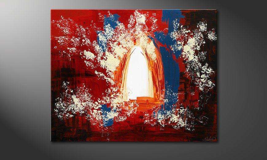 Enlightened Gate 100x80x2cm Pintura
