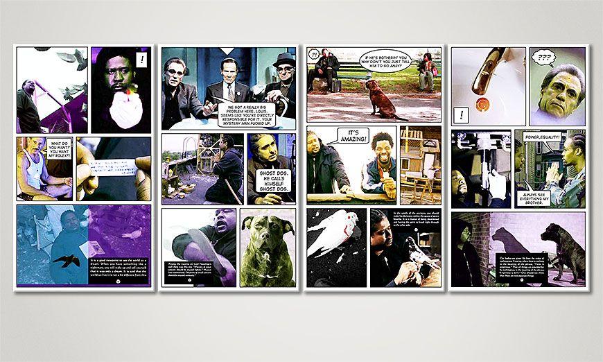 Nuestro cuadro Ghost Dog 160x70x2cm
