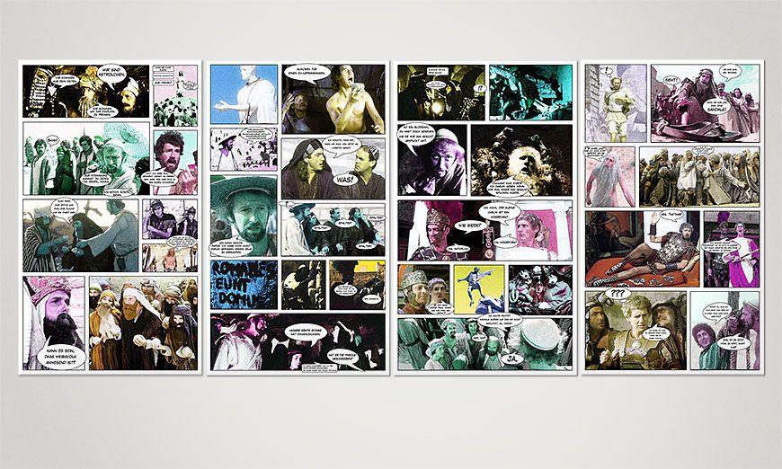 Nuestro cuadro La vida de Brian 160x70x2cm