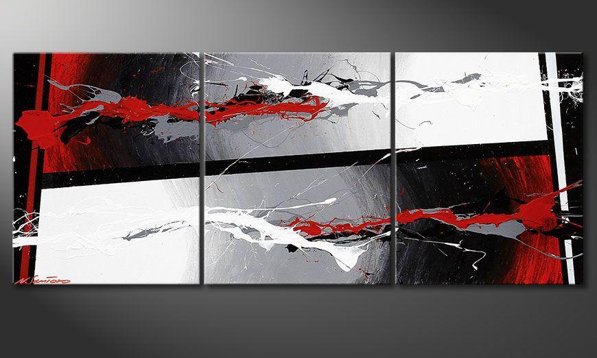 Nuestro cuadro shabby y chic Powerful Contrast 120x50x2cm