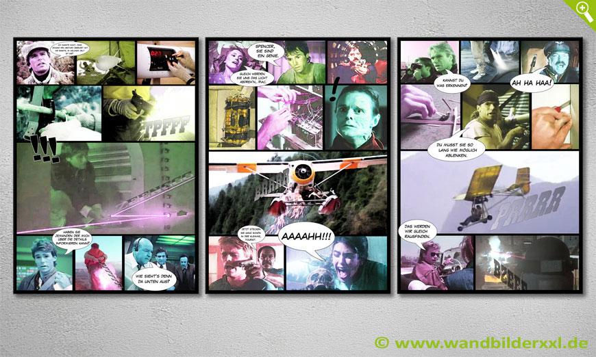 Nuestro moderno cuadro de pared Mac Gyver 150x70x2cm