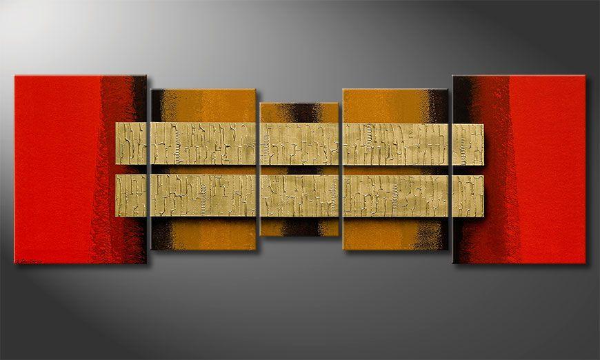 Two Treasures 210x70x2cm Cuadro