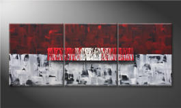 Arte moderno 'Clear Thought' 180x70cm
