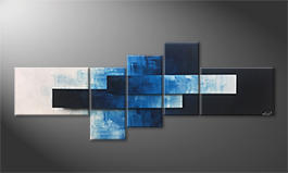 Arte moderno 'Flying Sky' 210x80cm
