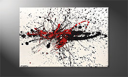 Arte moderno 'Light Smash' 120x80cm