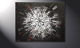 El cuadro 'Center of Light' de 100x80cm
