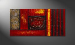 El cuadro 'Emotional Moments' 120x60cm