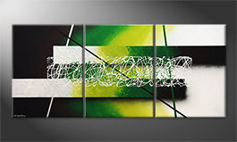 El cuadro 'Green Connection' 180x80cm