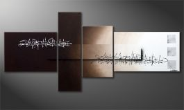 El cuadro-XXL 'Between Night & Day' 220x100cm