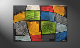 El cuadro moderno 'Different Minds' 120x80cm