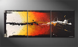 La pintura  exclusiva 'Altercation' 180x70cm