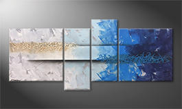 La pintura  exclusiva 'Caught Wave' 180x80cm