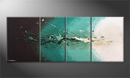 La pintura  exclusiva 'Fresh Splash' 180x70cm