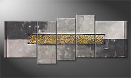 La pintura  exclusiva 'Golden Trice' 190x80cm