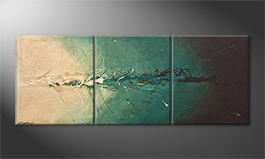 La pintura  exclusiva 'Into The Depth' 180x70cm