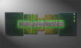 La pintura  exclusiva 'Jungle Treasures' 200x70cm