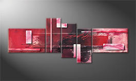 La pintura  exclusiva 'Red Clouds' 230x90cm