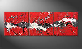 La pintura  exclusiva 'Try Of Clearness' 210x70cm