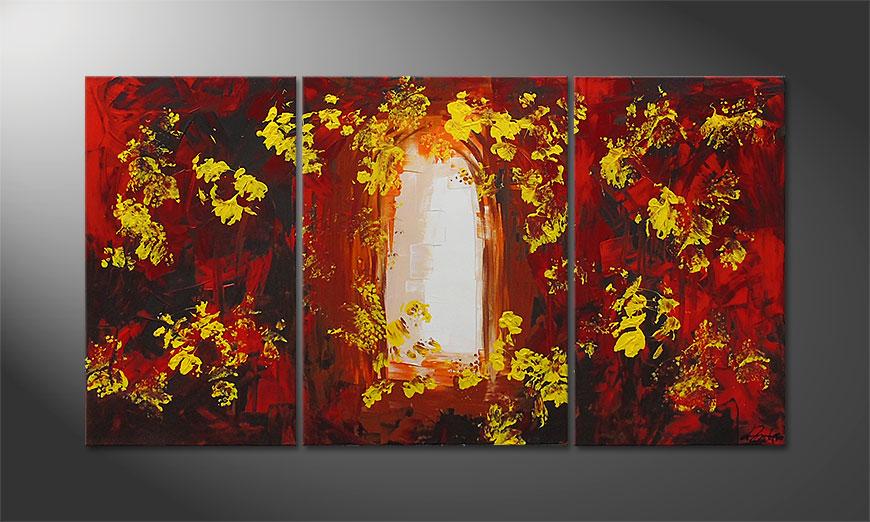 El cuadro Garden Gate 130x70x2cm
