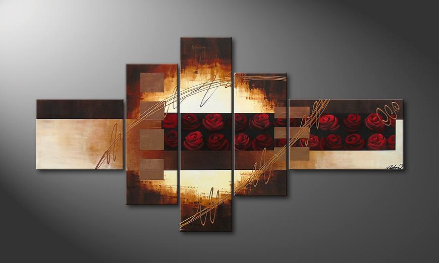 El cuadro Rose Garden II 205x110x2cm