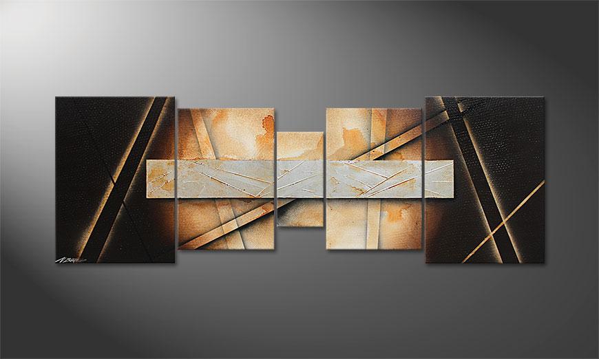 El cuadro para la sala Desert Treasure 200x70x2cm
