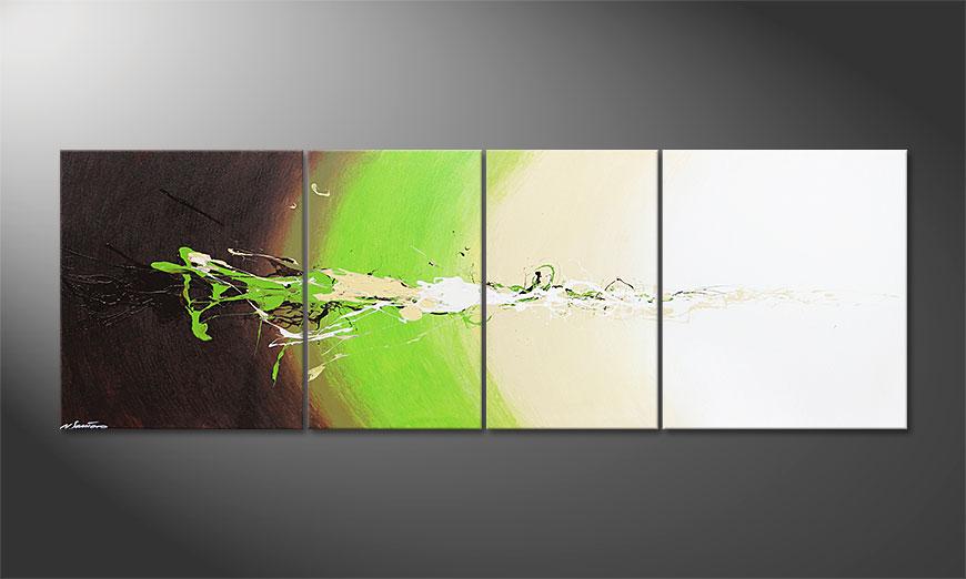 El gran cuadro Fresh Splash 240x80x2cm