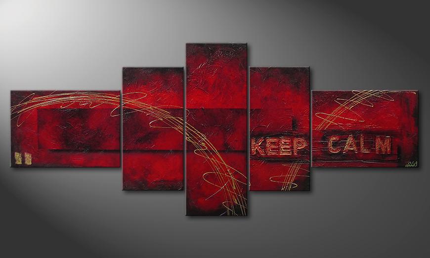 Keep Calm 260x110x4cm Cuadro