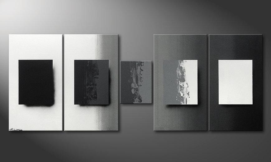 Shades of Grey 230x90x2cm Cuadro