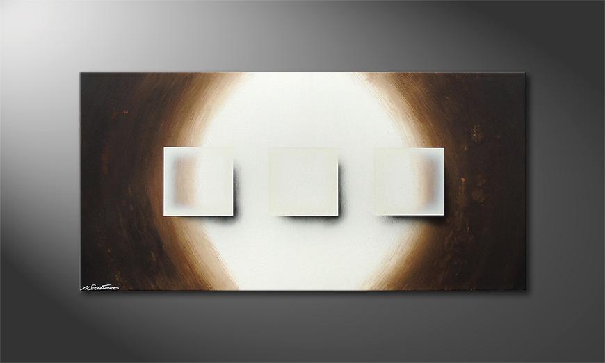 Shiny Cubes 120x60x2cm Bild