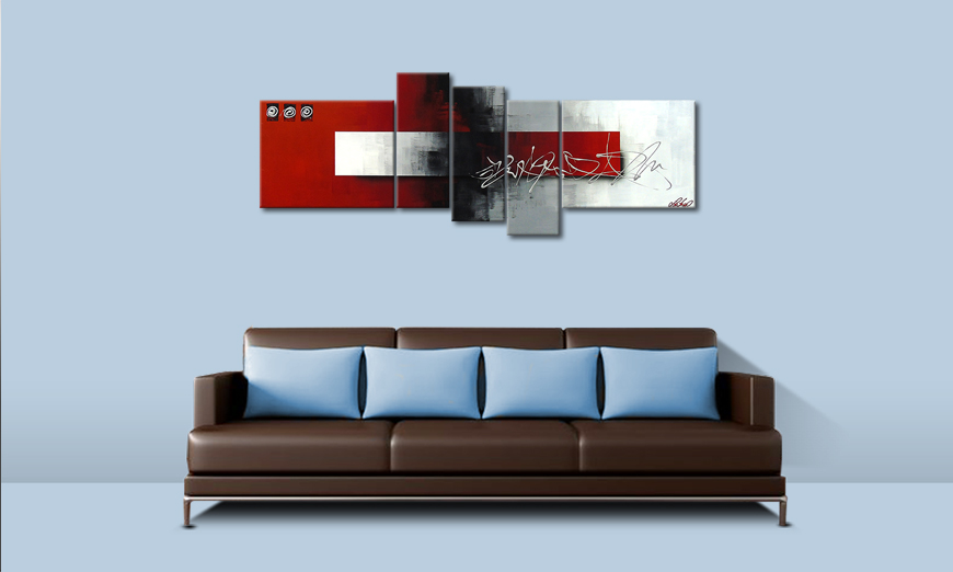 El cuadro moderno Clear Thought 160x60cm