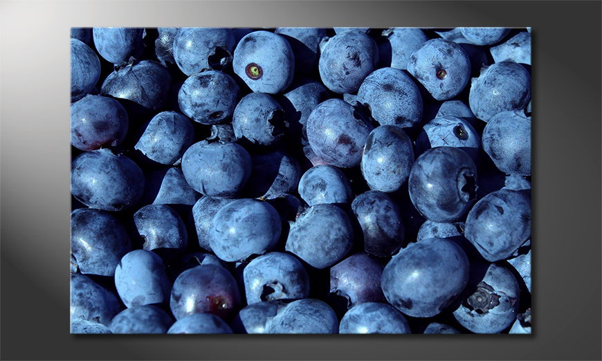 Blueberries Cuadro