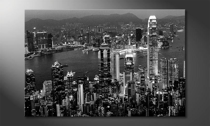 Decoración moderna Hongkong View