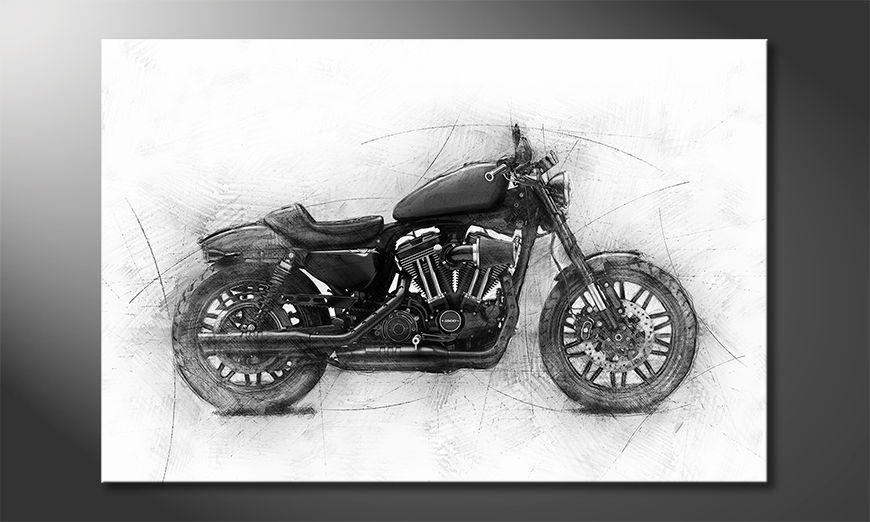 Decoración moderna Motocycle Uno