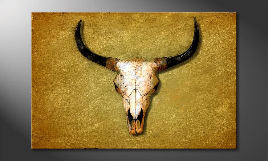 Decoración moderna The Bull