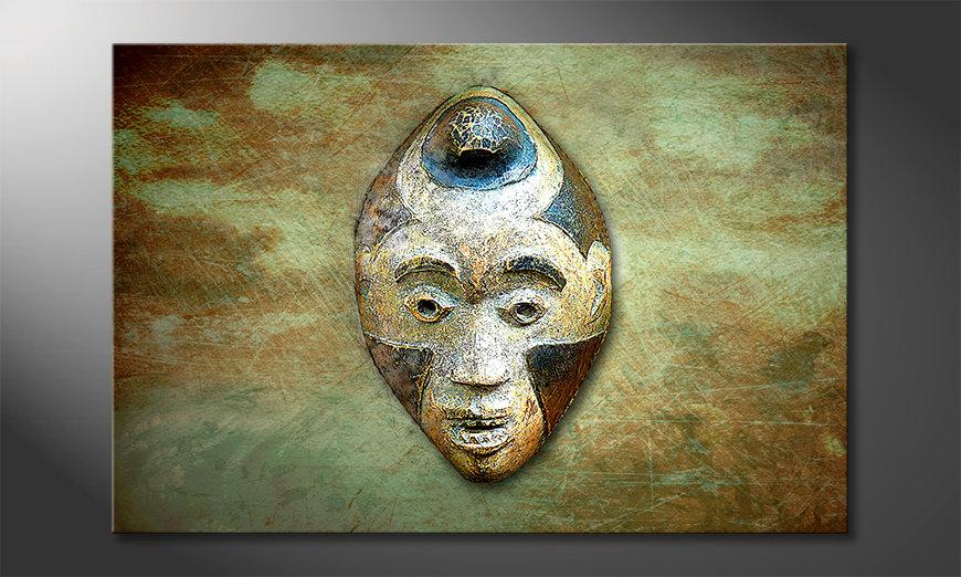El cuadro Afro Head