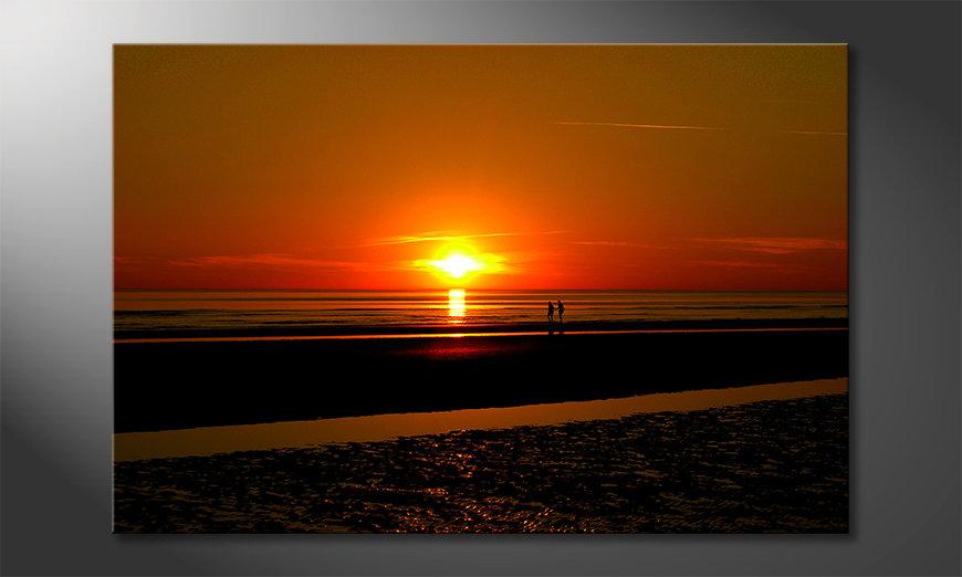 El cuadro Afterglow
