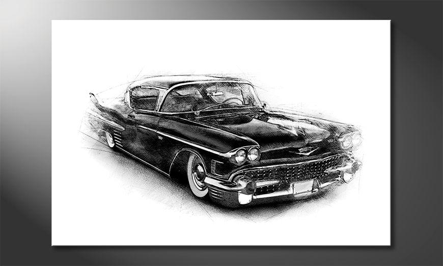 El cuadro Black Car